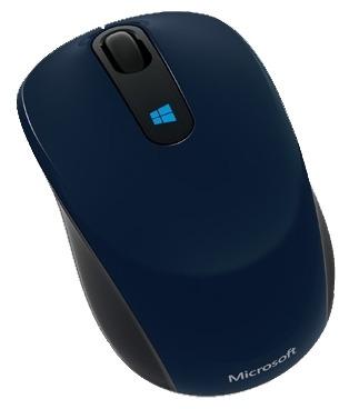 Мышь Microsoft Sculpt синий оптическая (1000dpi) беспроводная для ноутбука (3but)