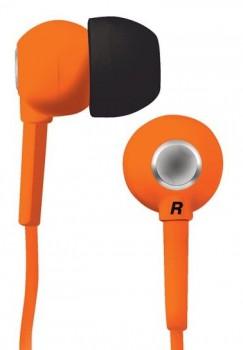 Наушники вкладыши BBK EP-1200S 1.2м оранжевый проводные (в ушной раковине)