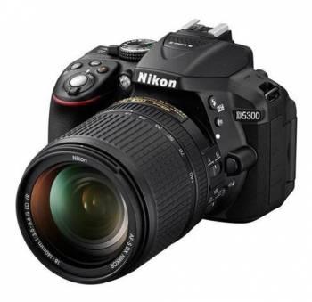 Зеркальный Фотоаппарат Nikon D5300 черный 24.2Mpix AF-S DX NIKKOR 18-140mm f/3.5-5.6G ED VR 3