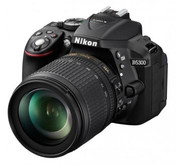 Зеркальный Фотоаппарат Nikon D5300 черный 24.2Mpix AF-S DX NIKKOR 18-105mm f/3.5-5.6G ED VR 3