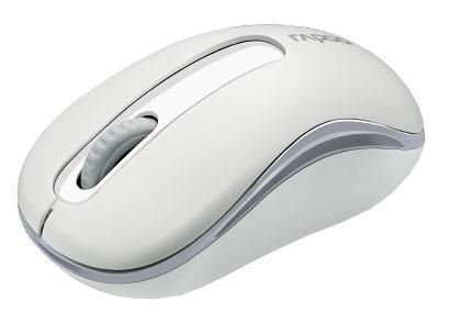 Мышь Rapoo M10 белый оптическая (1000dpi) беспроводная USB (2but)