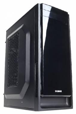 Корпус Zalman ZM-T2 Plus черный без БП mATX 3x120mm 1xUSB2.0 1xUSB3.0 audio bott PSU
