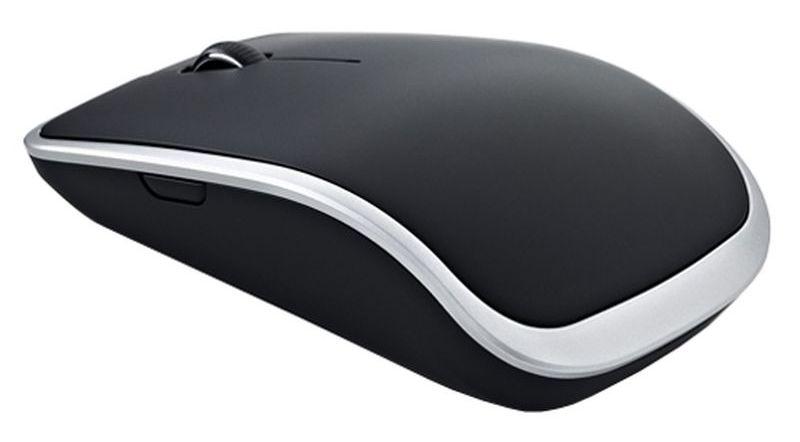 Мышь Dell WM514 черный лазерная (1000dpi) беспроводная USB для ноутбука (5but)