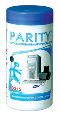 Салфетки Parity 24061 для компьютеров и оргтехники малая туба 105шт влажных