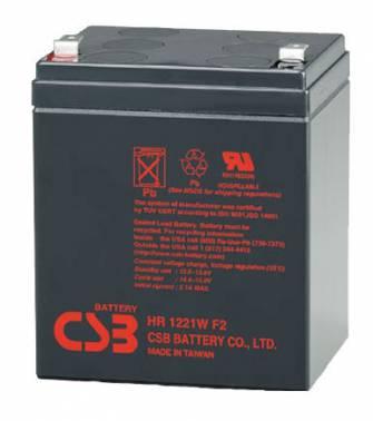 Батарея для ИБП CSB HR 1221W F2 12В 5Ач