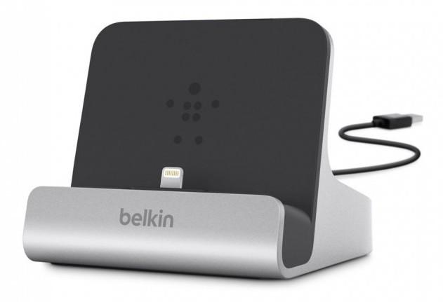Автомобильный держатель Belkin Apple iPad Express Dock серебристый (F8J088bt)
