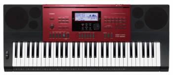Синтезатор Casio CTK-6250 61клав. красный