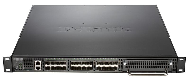 Коммутатор D-Link DXS-3600-32S/B1AEI 24SFP+ управляемый