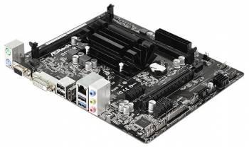 Материнская плата Asrock D1800M mATX AC`97 6ch(5.1) GbLAN+VGA+DVI+HDMI