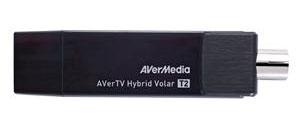 Тюнер-ТВ/FM Avermedia AVerTV Hybrid Volar T2 H831 внешний USB PDU