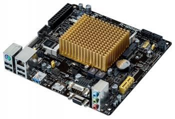 Материнская плата Asus J1900I-C 2xDDR3L mini-ITX AC`97 8ch(7.1) GbLAN+VGA+HDMI