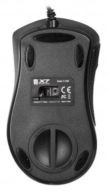 Мышь A4 X-748K черный оптическая (3200dpi) USB игровая (6but)