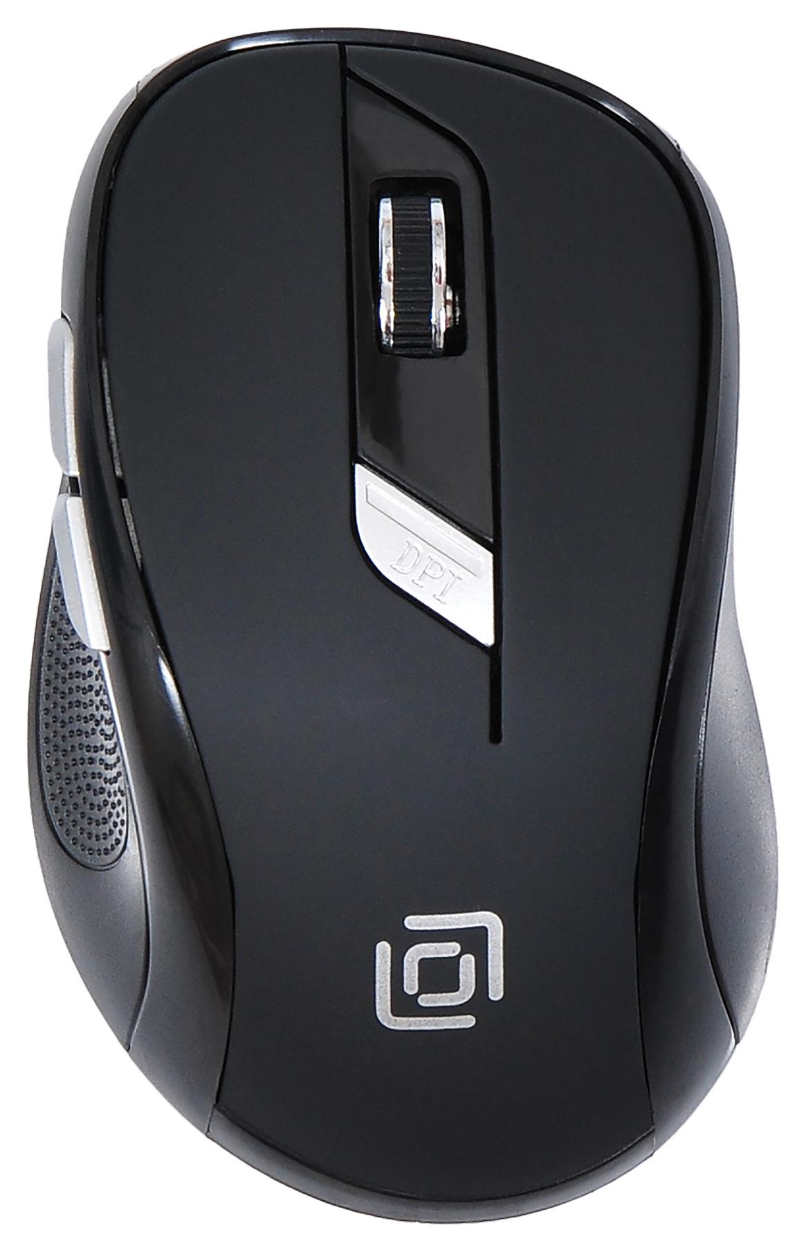 Мышь Oklick 465MW черный оптическая (1600dpi) беспроводная USB (5but)