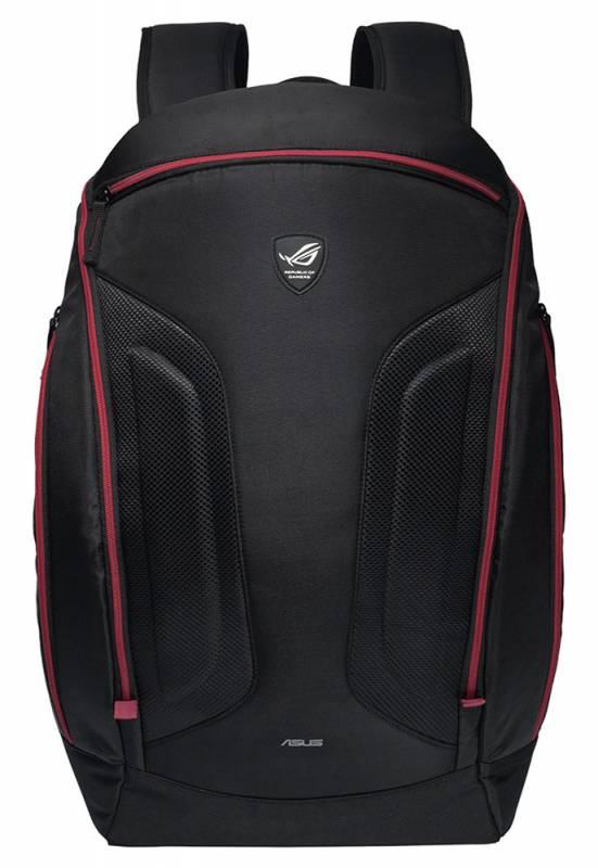 """Рюкзак для ноутбука 17"""" Asus ROG Shuttle II черный полиэстер (90-XB2I00BP00020-)"""