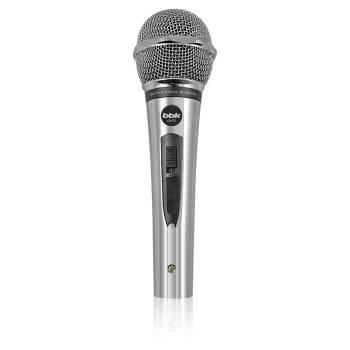 Микрофон проводной BBK CM131 5м серебристый