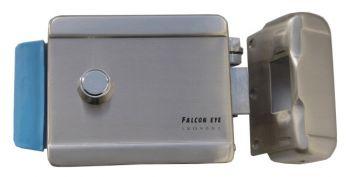 Замок электромеханический Falcon Eye FE-2370 сталь серебристый
