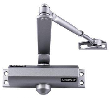 Доводчик двери Falcon Eye FE-B3W 3 класс серебристый