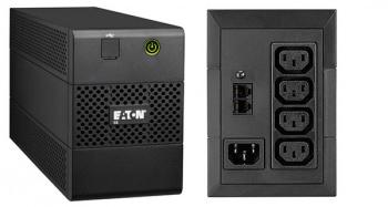 Источник бесперебойного питания Eaton 5E 650VA 360Вт 650ВА черный