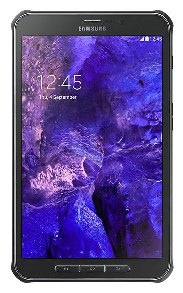 "Планшет Samsung Tab Active LTE SM-T365 MSM8926 (1.2) 4C/RAM1.5Gb/ROM16Gb 8"" TFT 1280x800/3G/4G/Android 4.4/черный/серый/3.1Mpix/1.2Mpix/BT/GPS/WiFi/Touch/microSD 64Gb/minUSB/4450mAh/до 970hrs"