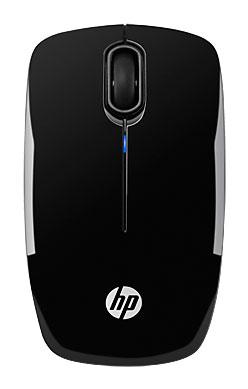 Мышь HP z3200 черный оптическая (1600dpi) беспроводная USB для ноутбука (2but)