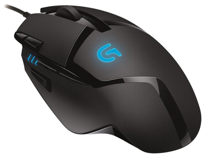 Мышь Logitech G402 черный оптическая (4000dpi) USB2.0 игровая (7but)