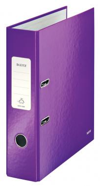 Папка-регистратор Leitz WOW 10050062 A4 80мм фиолетовый
