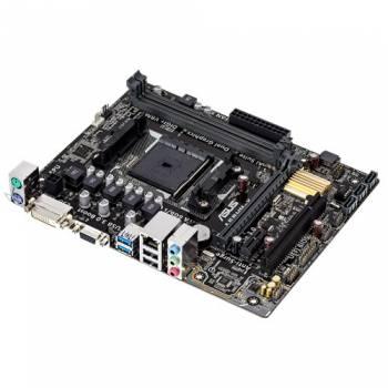 Материнская плата Asus A68HM-K Soc-FM2+ AMD A68H 2xDDR3 mATX AC`97 8ch(7.1) GbLAN RAID+VGA+DVI