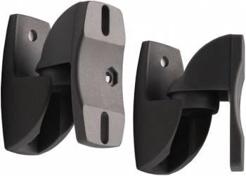Кронштейн для акустических систем Holder LSS-6001 черный макс.5кг настенный поворот и наклон