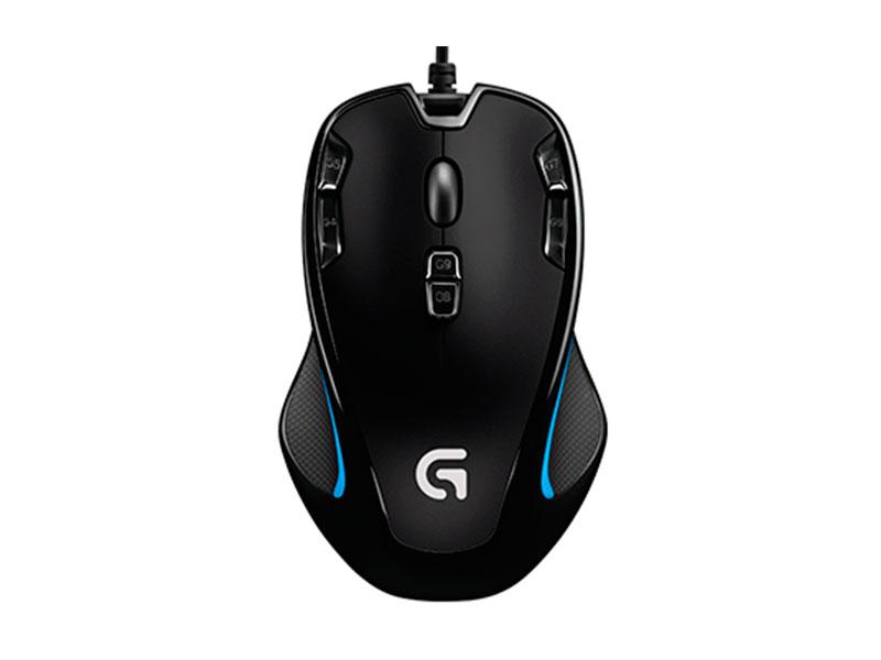 Мышь Logitech G300s черный оптическая (2500dpi) USB2.0 игровая (8but)